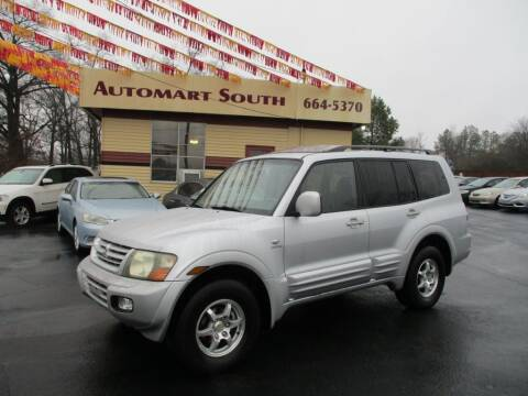 2002 Mitsubishi Montero for sale at Automart South in Alabaster AL