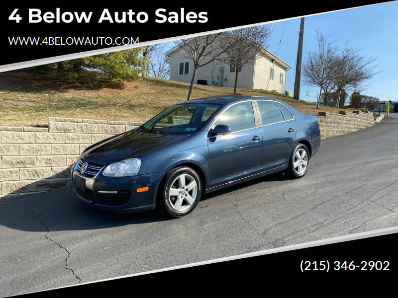 2008 Volkswagen Jetta for sale at 4 Below Auto Sales in Willow Grove PA
