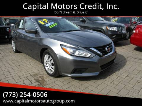 2017 Nissan Altima for sale at Capital Motors Credit, Inc. in Chicago IL