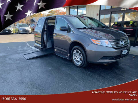 2013 Honda Odyssey for sale at Adaptive Mobility Wheelchair Vans in Seekonk MA