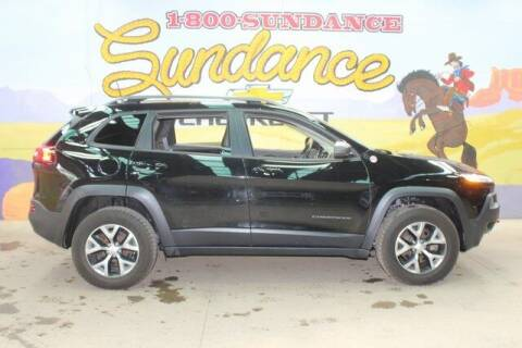 2018 Jeep Cherokee for sale at Sundance Chevrolet in Grand Ledge MI