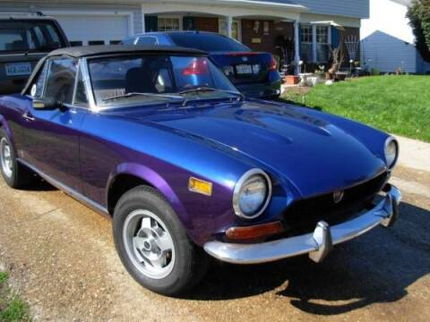 1974 FIAT 124 Spider for sale at Haggle Me Classics in Hobart IN