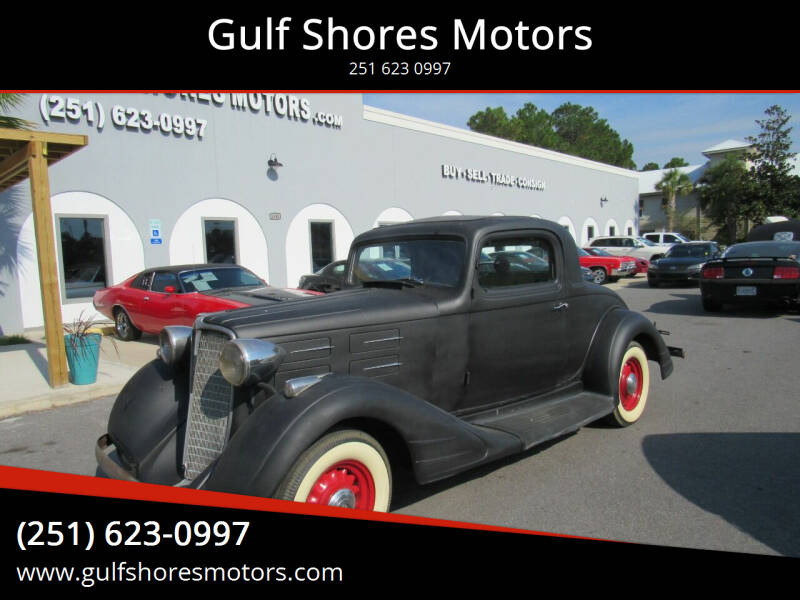 1934 Nash Coupe for sale at Gulf Shores Motors in Gulf Shores AL