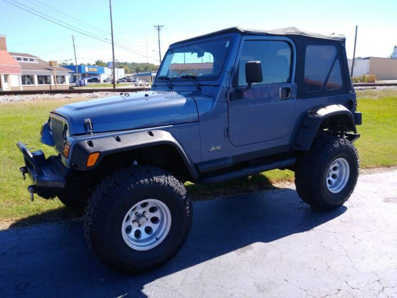 2002 Jeep Wrangler for sale at Big Boys Auto Sales in Russellville KY