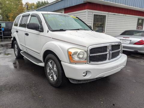 2006 Dodge Durango for sale at Peter Kay Auto Sales in Alden NY