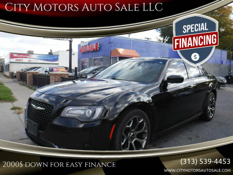 2015 Chrysler 300 for sale at City Motors Auto Sale LLC in Redford MI