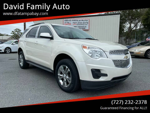 2014 Chevrolet Equinox for sale at David Family Auto in New Port Richey FL