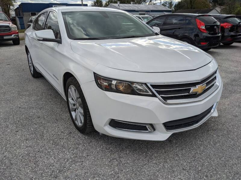 2017 Chevrolet Impala for sale at PREMIER MOTORS OF PEARLAND in Pearland TX