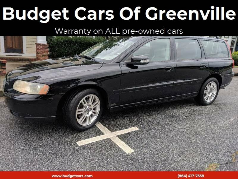 2007 Volvo V70 for sale at Budget Cars Of Greenville in Greenville SC