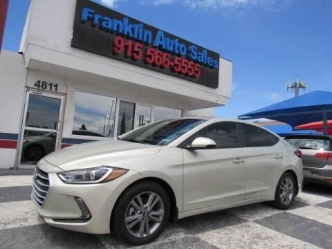 2017 Hyundai Elantra for sale at Franklin Auto Sales in El Paso TX