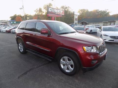 2012 Jeep Grand Cherokee for sale at Comet Auto Sales in Manchester NH