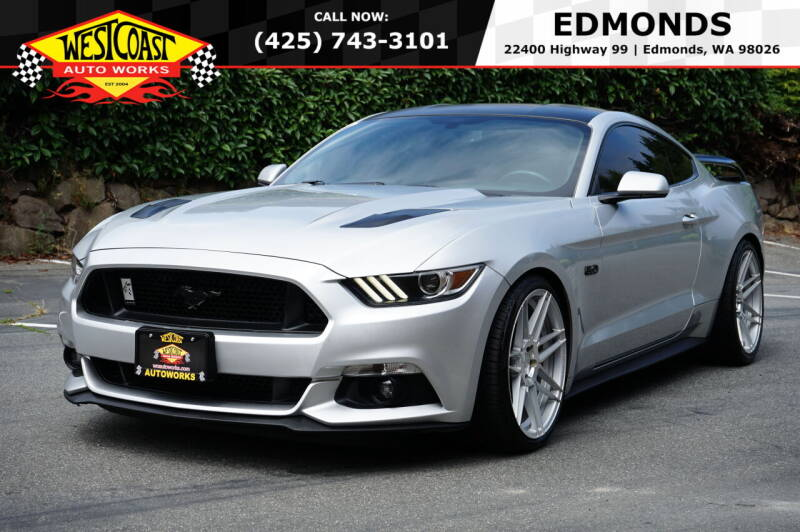 2016 Ford Mustang for sale at West Coast Auto Works in Edmonds WA