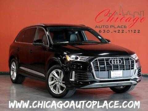 2020 Audi Q7 for sale at Chicago Auto Place in Bensenville IL