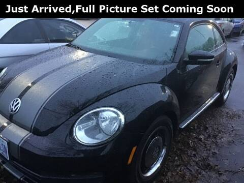 2012 Volkswagen Beetle for sale at Royal Moore Custom Finance in Hillsboro OR