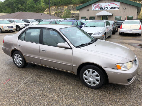 2002 Toyota Corolla for sale at Gilly's Auto Sales in Rochester MN