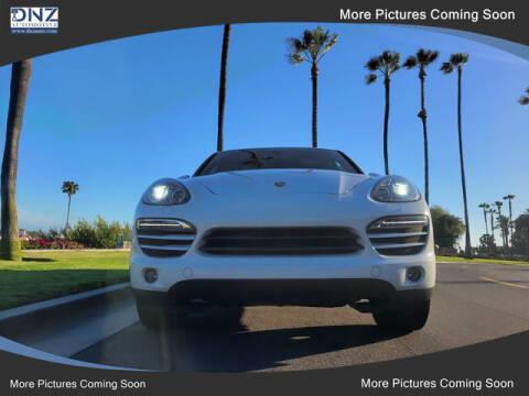 2013 Porsche Cayenne for sale at DNZ Auto Sales in Costa Mesa CA