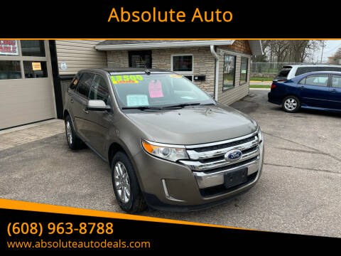 2013 Ford Edge for sale at Absolute Auto in Baraboo WI