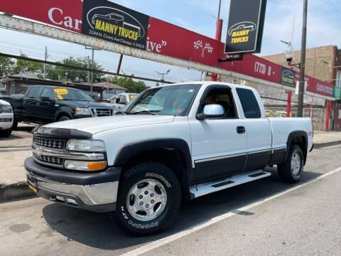 2002 Chevrolet Silverado 1500 for sale at Manny Trucks in Chicago IL