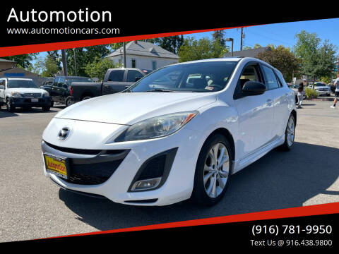 2011 Mazda MAZDA3 for sale at Automotion in Roseville CA