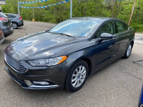 2017 Ford Fusion for sale at Matt Jones Preowned Auto in Wheeling WV