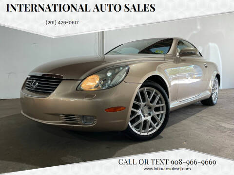 2005 Lexus SC 430 for sale at International Auto Sales in Hasbrouck Heights NJ