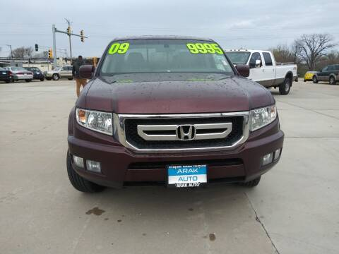2009 Honda Ridgeline for sale at Arak Auto Group in Bourbonnais IL