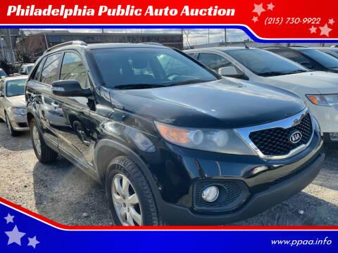 2011 Kia Sorento for sale at Philadelphia Public Auto Auction in Philadelphia PA