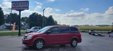 2012 Dodge Grand Caravan for sale at Biron Auto Sales LLC in Hillsboro OH