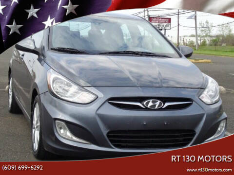 2012 Hyundai Accent for sale at RT 130 Motors in Burlington NJ