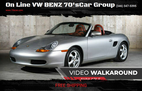 1997 Porsche Boxster for sale at On Line VW BENZ 70'sCar Group in Warehouse CA