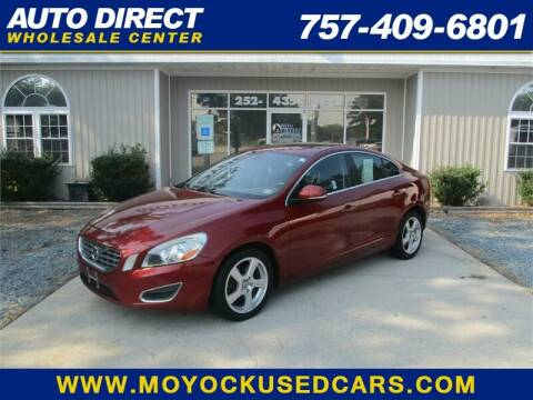 2012 Volvo S60 for sale at Auto Direct Wholesale Center in Moyock NC