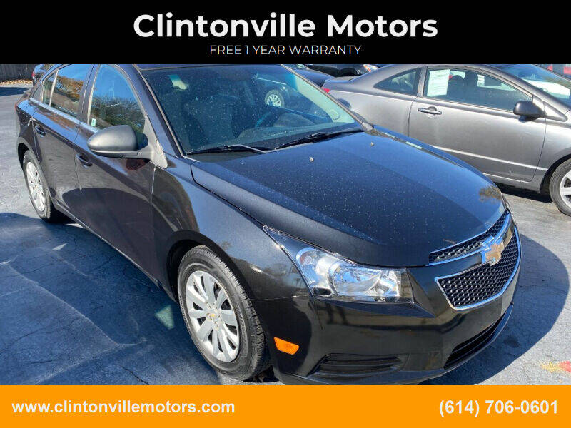 2011 Chevrolet Cruze for sale at Clintonville Motors in Columbus OH