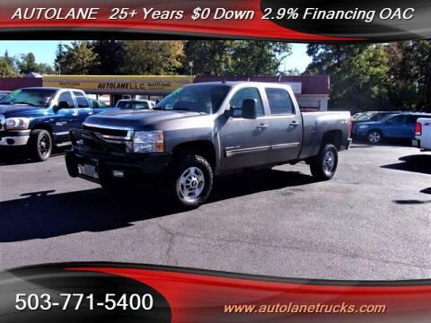 2013 Chevrolet Silverado 2500HD for sale at Auto Lane in Portland OR