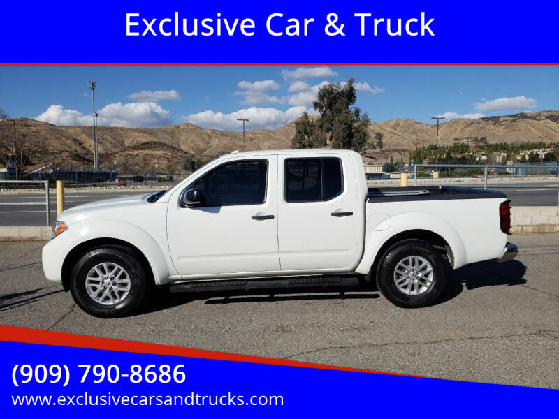 2017 Nissan Frontier for sale at Exclusive Car & Truck in Yucaipa CA
