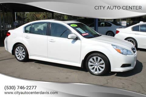 2012 Subaru Legacy for sale at City Auto Center in Davis CA