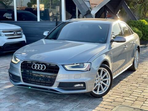 2015 Audi A4 for sale at Unique Motors of Tampa in Tampa FL