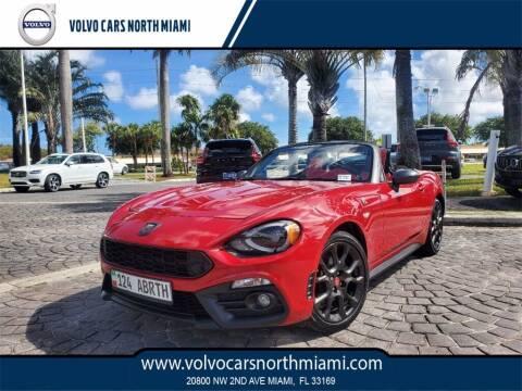 2017 FIAT 124 Spider for sale at Volvo Cars North Miami in Miami FL
