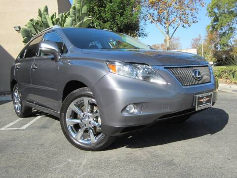 2012 Lexus RX 350 for sale at ORANGE COUNTY AUTO WHOLESALE in Irvine CA