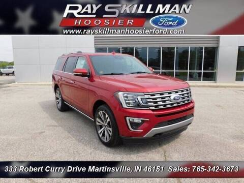 2021 Ford Expedition for sale at Ray Skillman Hoosier Ford in Martinsville IN