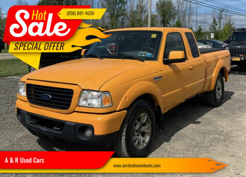 2008 Ford Ranger for sale at A & R Used Cars in Clayton NJ