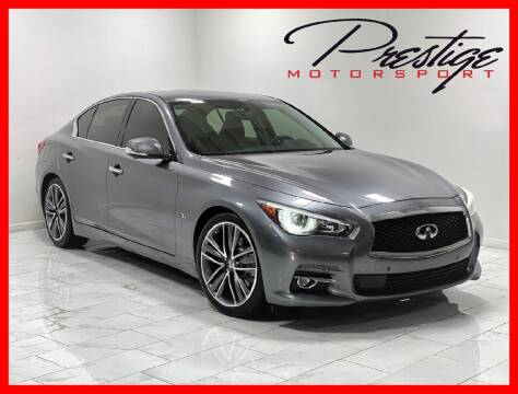 2014 Infiniti Q50 for sale at Prestige Motorsport in Rancho Cordova CA