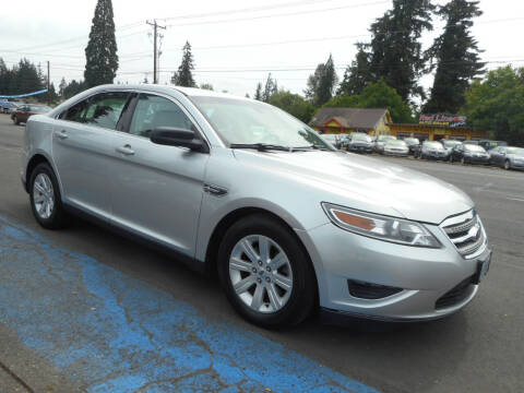 2012 Ford Taurus for sale at Lino's Autos Inc in Vancouver WA