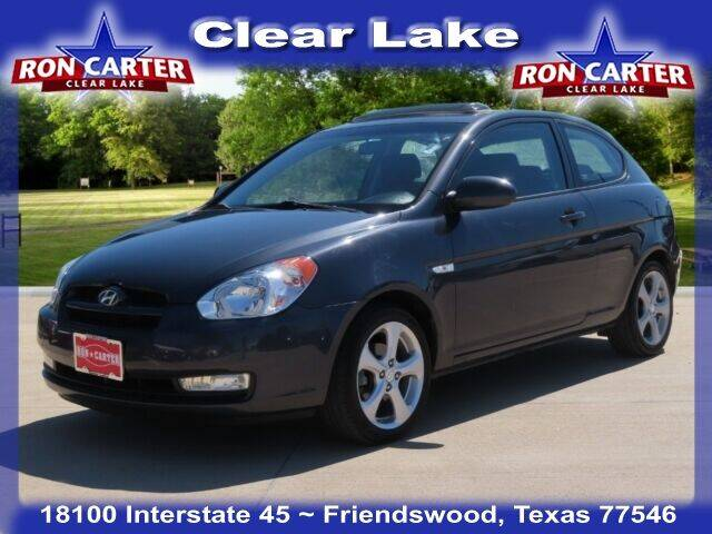 2008 Hyundai Accent for sale at Ron Carter  Clear Lake Used Cars in Houston TX