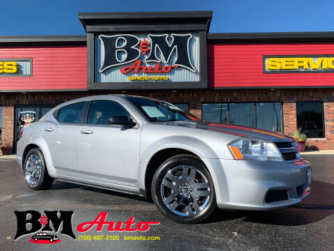 2013 Dodge Avenger for sale at B & M Auto Sales Inc. in Oak Forest IL