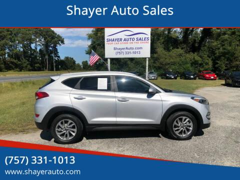 2016 Hyundai Tucson for sale at Shayer Auto Sales in Cape Charles VA