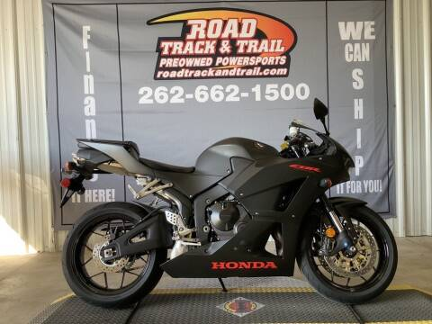 2020 Honda CBR600RR for sale at Road Track and Trail in Big Bend WI