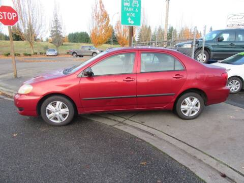 2005 Toyota Corolla for sale at Car Link Auto Sales LLC in Marysville WA