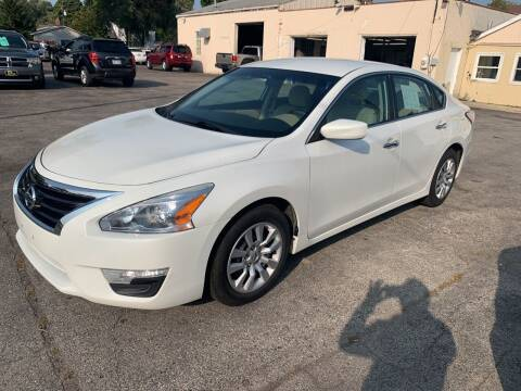 2014 Nissan Altima for sale at PAPERLAND MOTORS in Green Bay WI