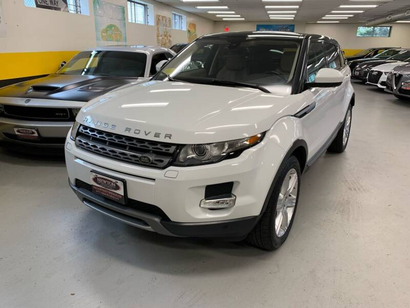 2015 Land Rover Range Rover Evoque for sale at Newton Automotive and Sales in Newton MA