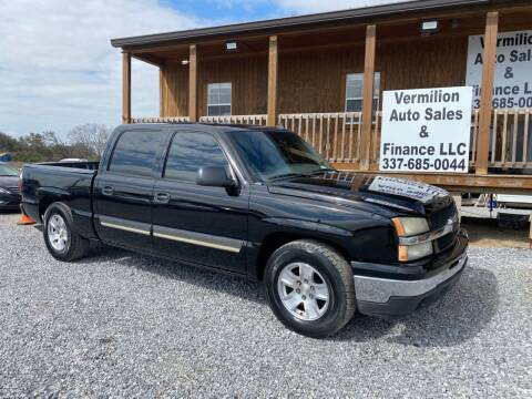 2006 Chevrolet Silverado 1500 for sale at Vermilion Auto Sales & Finance in Erath LA